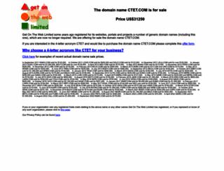 ctet.com screenshot