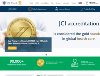 cteyehospital.com screenshot