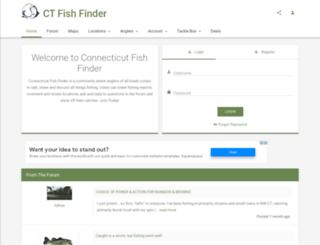 ctfishfinder.com screenshot
