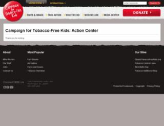 ctfk.salsalabs.com screenshot