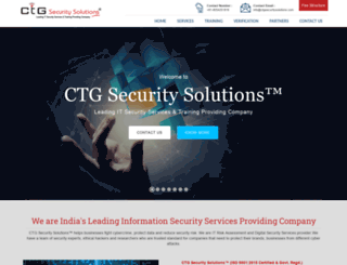ctgsecuritysolutions.com screenshot