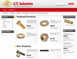ctisupplies.com screenshot