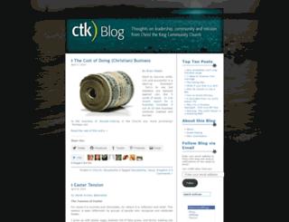 ctkblogdotcom.wordpress.com screenshot