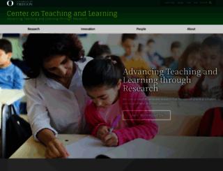 ctl.uoregon.edu screenshot