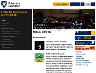ctl2.uwindsor.ca screenshot