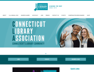 ctlibraryassociation.starchapter.com screenshot