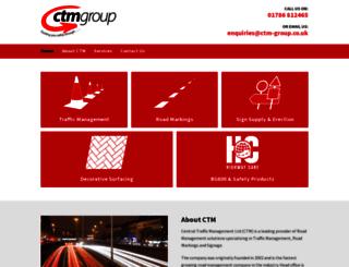 ctm-group.co.uk screenshot
