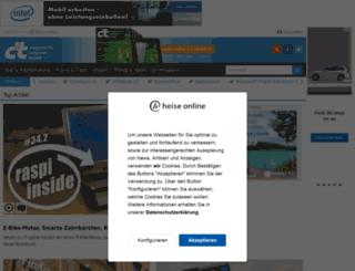 ctmagazin.de screenshot