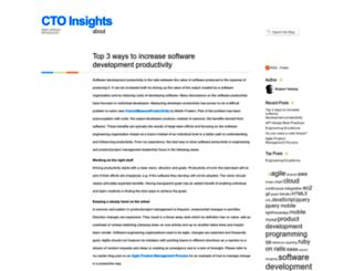ctoinsights.wordpress.com screenshot
