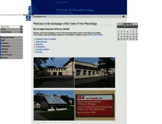 ctp.uni-freiburg.de screenshot