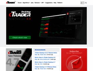 ctrader.com screenshot