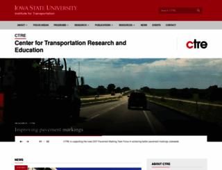 ctre.iastate.edu screenshot