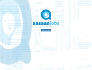 cts.aasaanjobs.com screenshot