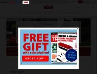 ctt.trains.com screenshot