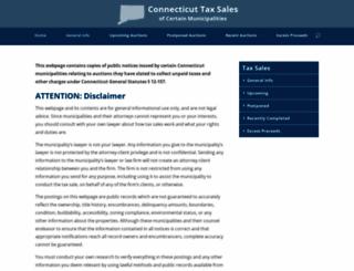 cttaxsales.com screenshot