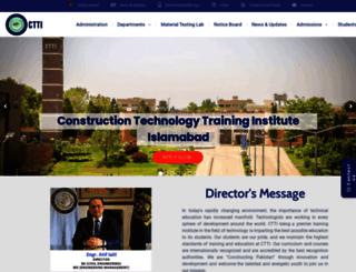 ctti.edu.pk screenshot