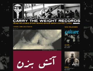 ctwrecords.com screenshot