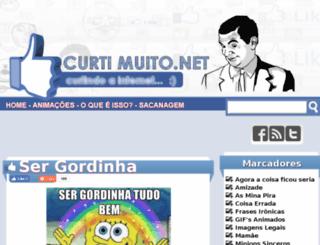 cu.curtimuito.net screenshot