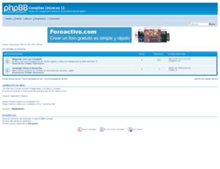 cu11.foroactivo.com screenshot