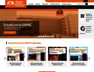 cua.uam.mx screenshot