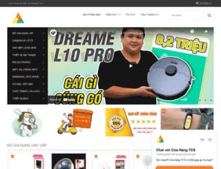 cuahangtcs.com screenshot