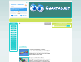 cuantas.net screenshot