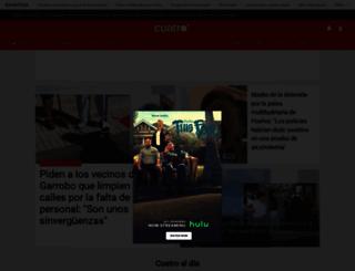 cuatro.com screenshot