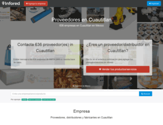 cuautitlan.infored.com.mx screenshot