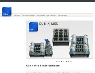 cub-x.de screenshot