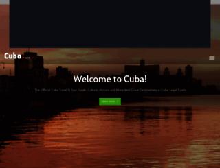 cuba.com screenshot