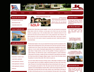 cubahomeforsale.com screenshot