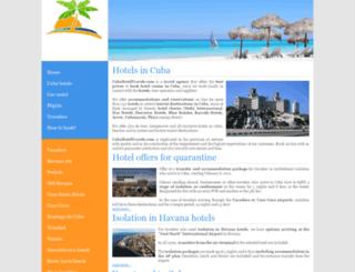cubahoteltravels.com screenshot