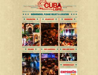 cubalibrerestaurant.com screenshot