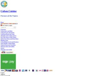 cubancuisine.co.uk screenshot