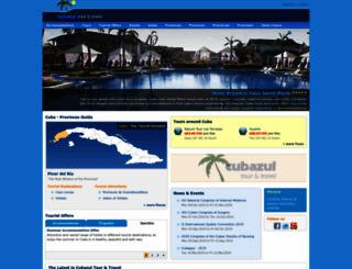 cubazul.net screenshot
