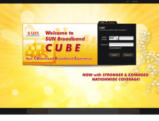 cube.sunbroadband.ph screenshot