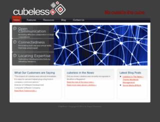cubeless.com screenshot