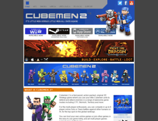 cubemen2.com screenshot