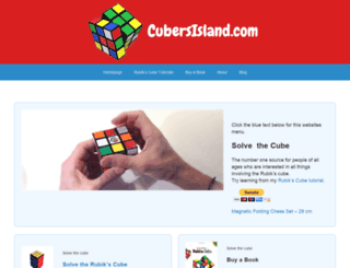 cubersisland.com screenshot