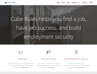 cuberules.com screenshot