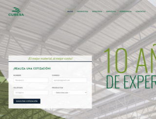 cubesa.com.mx screenshot