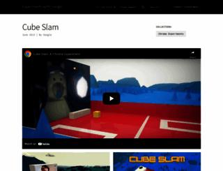 cubeslam.com screenshot