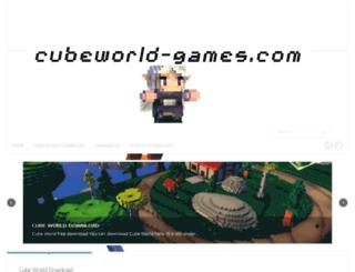 cubeworld-games.com screenshot
