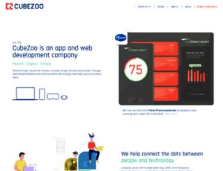 cubezoo.co.za screenshot