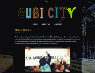 cubicitygame.com screenshot