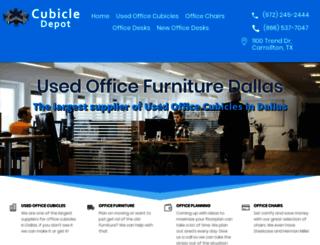 cubicledepot.com screenshot