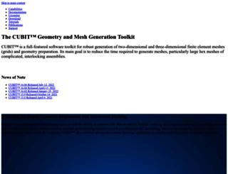 cubit.sandia.gov screenshot