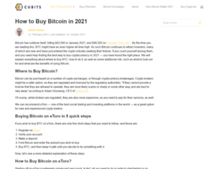 cubits.com screenshot
