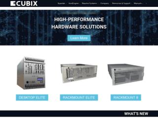 cubix.com screenshot