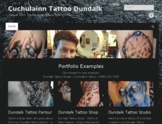 cuchulainntattoodundalk.com screenshot